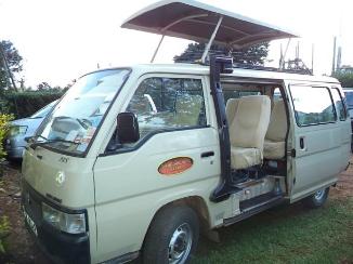 Safari Minivan For Hire